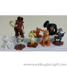 Ice Age Figurines / Ice Age Cake Topper