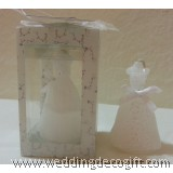 Bridal Dress Candle, Wedding Favors / Decoration