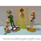 Tinkerbell Cake Topper / Disney Fairies Cake Topper / Tinkerbell Figurine / Fairy Tale Kids Toy