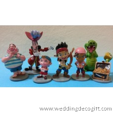 Jake and the Neverland Pirates Cake Topper Figurine / Jake Pirates Toy