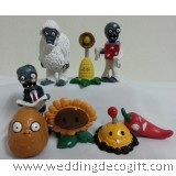 Plants vs. Zombies Cake Topper / Plants vs. Zombies Figurine