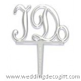 Wedding Cupcake Decoration I Do Picks (12pcs)