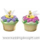 Tinkerbell, Fairies Cupcake Ring / Tinkerbell Cupcake Decoration (6pcs)