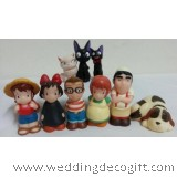 Kiki's Delivery Service Cake Topper / Kiki's Delivery Services Figurine Decoration