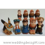 Castle in the Sky Figurine Decoration / Castle in the Sky Cake Topper
