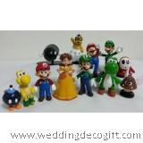Super Mario Bros Figurine Toy / Super Mario Cake Topper Decoration