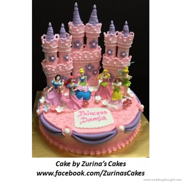 Princess Figurines Cake Topper Disney Princess Toy CCT07