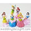 Cinderella , Princess Figurines  Cake Topper, Disney Princess Toy - CCT07