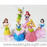 Cinderella , Princess Figurines  Cake Topper, Disney Princess Toy - CCT07