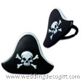 Pirate Hat Cupcake Ring Decoration