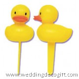 Duck Cupcake Pick Decoration