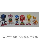 Super Sonic Figurine / Super Sonic Cake Topper