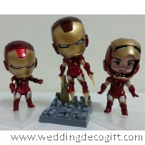 Iron Man 3 Toy Figurine,  Iron Man 3 Cake Topper
