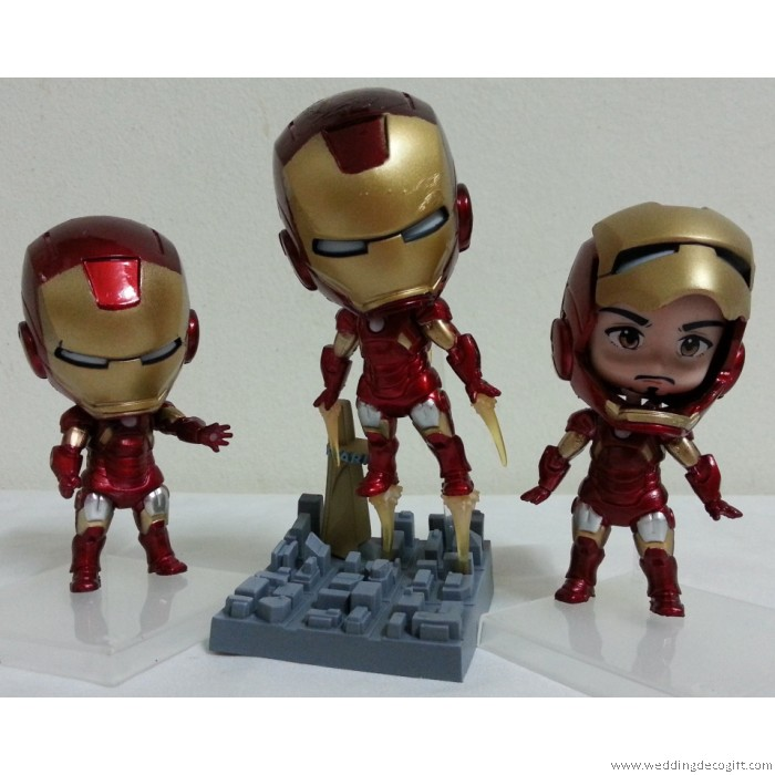Ironman Cake Topper Cake Recipe