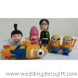 Despicable Me 2 Character Toy Playset