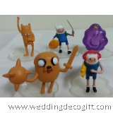 Adventure Time with Finn & Jake Cake Topper / Adventure Time Decoration Toy