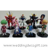 Gundam Figurine Toy Collection, Gundam Figurine Cake Topper