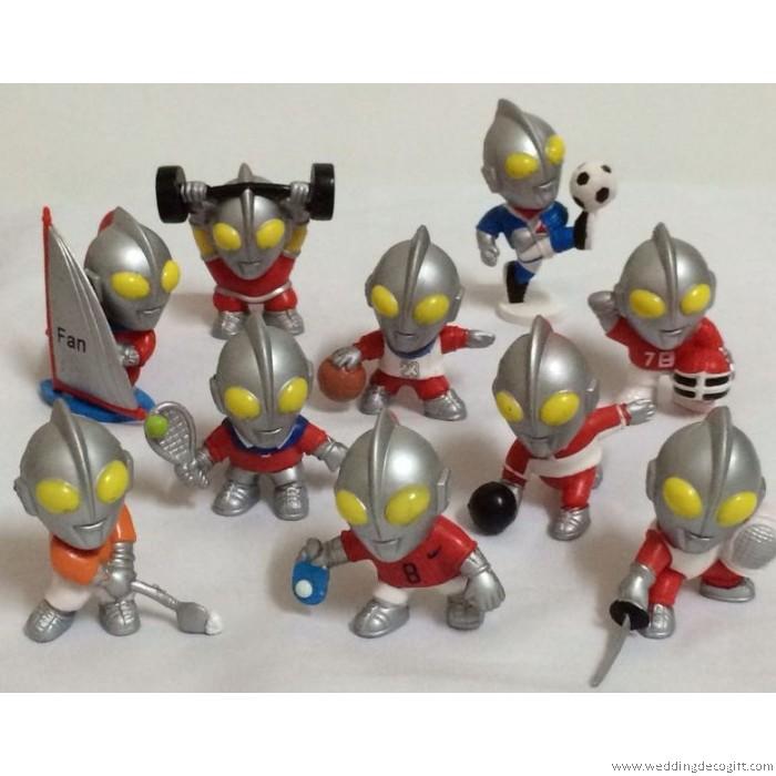 Cute Ultraman Figurine Toy Figurine Ultraman Cake Topper