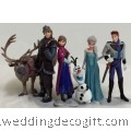 Frozen Princess Figurines Cake Topper, Disney Frozen Toy Figurine- CCT13