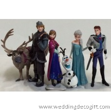 Frozen Princess Figurines Cake Topper, Disney Frozen Toy Figurine- CCT13