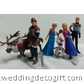 Frozen Princess Anna, Elsa Figurines Cake Topper, Disney Frozen Anna, Elsa Toy Figurine - CCT14