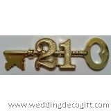 Gold 21st Key  - GKCT01A