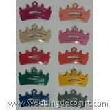Princess Crown Snap Hair Clip - CHA01