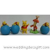 Winnie the Pooh Toy Figurine, Winnie the Pooh Tigger - WPF02