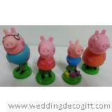 Peppa Pig Cake Topper, Peppa Pig Figurine – PPCT02