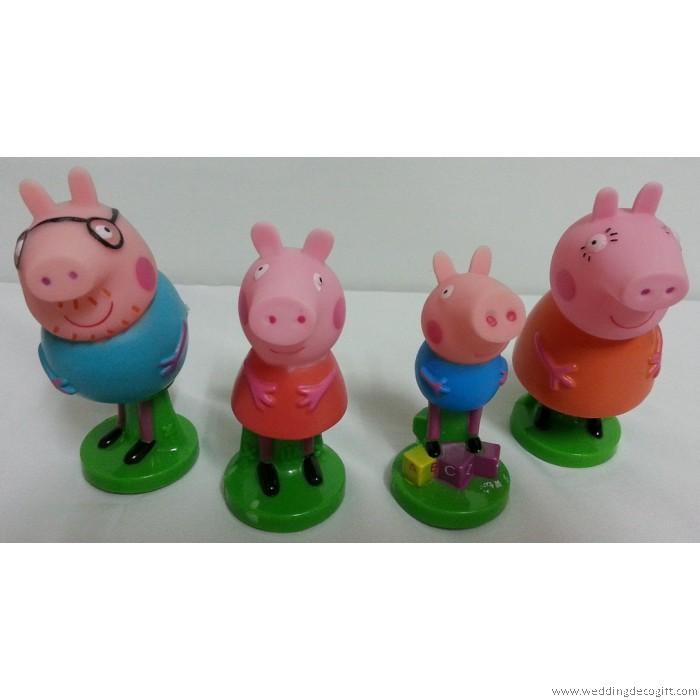 Peppa Pig Cake Topper Peppa Pig Figurine Ppct02