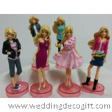 Barbie Toy Figurine / Barbie Cake Topper Figurine- BBCT01
