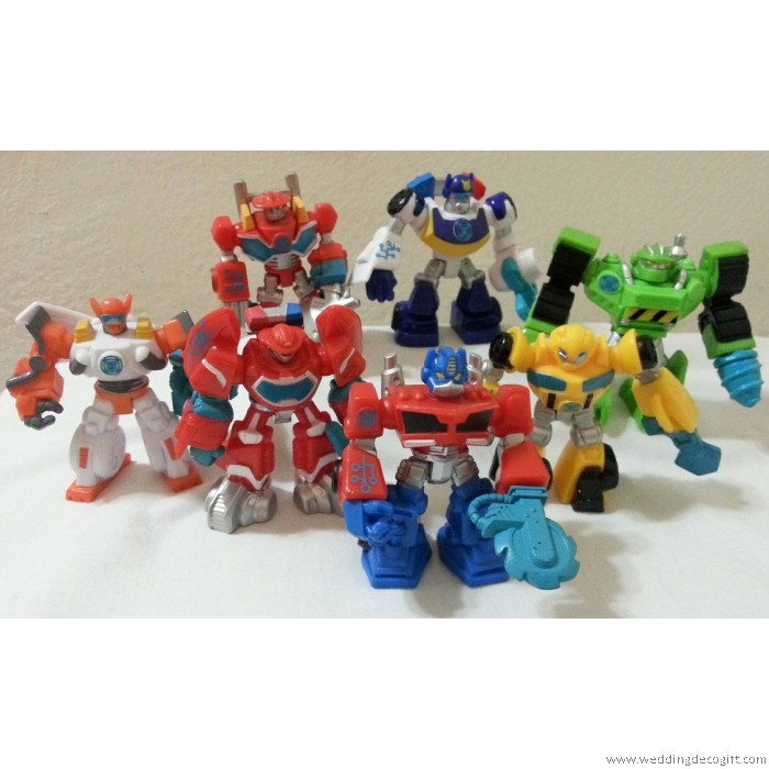 Transformer Toy Figurine Cake Topper Figures TRCT03