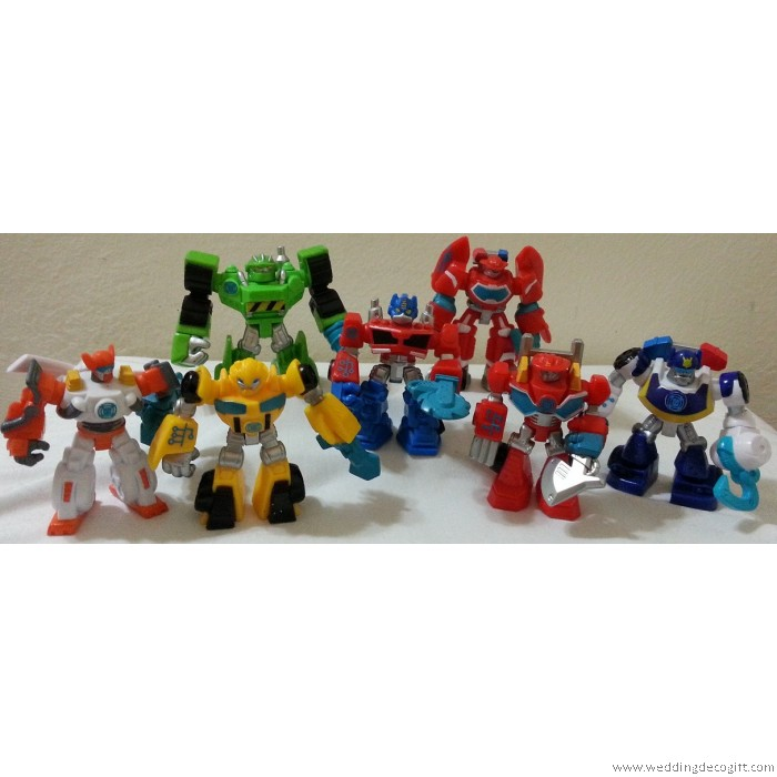 Cake Decoration Figures : Transformer Toy Figurine Cake Topper, Transformer Figures