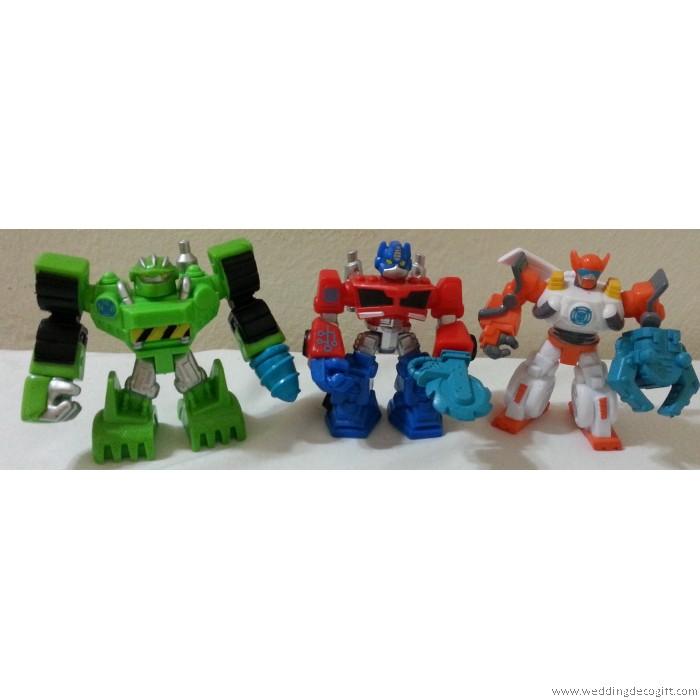 transformer toy figurine cake topper  transformer figures