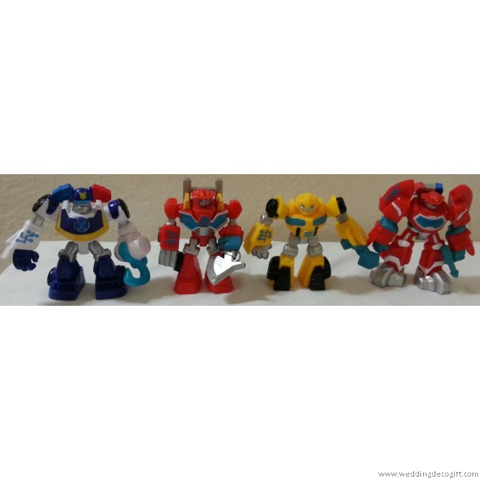 Transformer Figures Cake Toppers