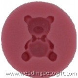 Bear Fondant Silicone Mould , Gumpaste Bear Mould - BRSM01