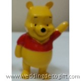 Winnie the Pooh Figurines, Pooh Cake Topper  - WPCT02