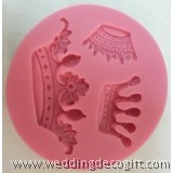 Crown Fondant Silicone Mould, Tiara Gum Paste Mould –CRSM01