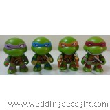Teenage Mutant Ninja Turtles Cake Topper Figurine, Cute Teenage Mutant Ninja Turtles Toy – TMCT02