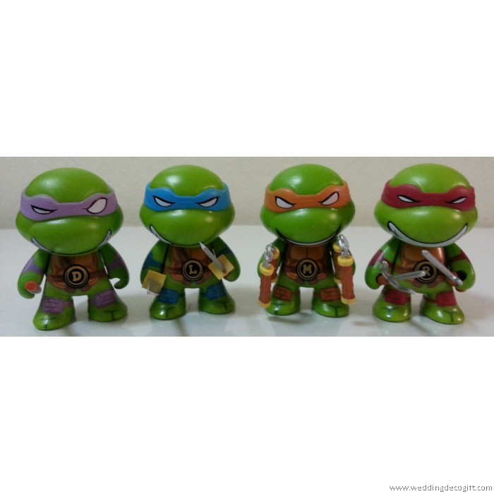 Teenage Mutant Ninja Turtles Cake Topper Figurine, Cute
