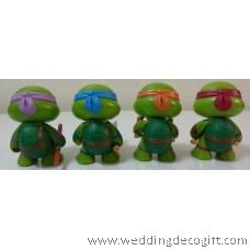 Teenage Mutant Ninja Turtles Cake Topper Figurine, Cute Teenage Mutant Ninja Turtles Toy – TMCT02