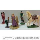 Rapunzel Cake Topper Toy Figurine, Rapunzel Figurine Toy - RPCT01