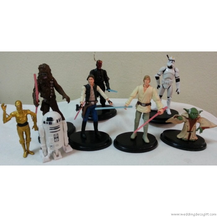 star wars toy figurine star wars cake topper. Black Bedroom Furniture Sets. Home Design Ideas