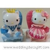 Hello Kitty Valentine Couple Figurine, Hello Kitty Couple Figures – HKCT08