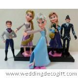 Disney Frozen Elsa, Frozen Anna, Rapunzel Cake Topper Figurine - CCT23