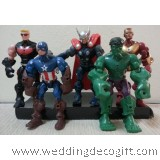 Action Super Heroes, Thor, Captain America, Iron Man, Hulk - AVF06B