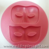 Masked Shape Gumpaste Mould - MSSM01