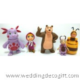 Masha and the Bear Toy Figures - MBF01A