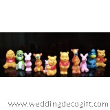 Winnie Pooh Figurine, Tigger, Piglet Toy Figures - WPCT03