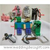 MineCraft Key Chain Toy Figures - MCF01